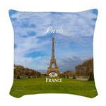 Paris Woven Throw Pillow