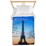 Paris Twin Duvet Cover