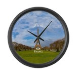 Paris Large Wall Clock