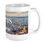 Paris 15 oz Ceramic Large Mug