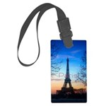 Paris Large Luggage Tag