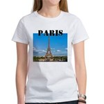 Paris Women's Classic White T-Shirt