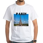 Paris White T-Shirt
