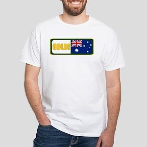 Australia White T-Shirt