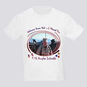 Welcome Home Dad Kids T-Shirt