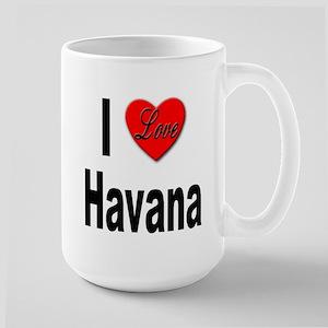 I Love Havana Cuba Large Mug