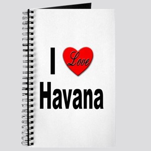 I Love Havana Cuba Journal