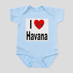 I Love Havana Cuba Infant Creeper