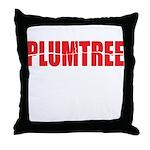 Plumtree Throw Pillow