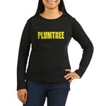 Plumtree Women's Long Sleeve Dark T-Shirt