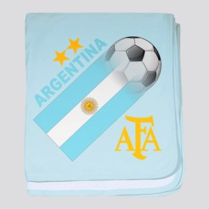 Argentina world cup soccer Infant Blanket