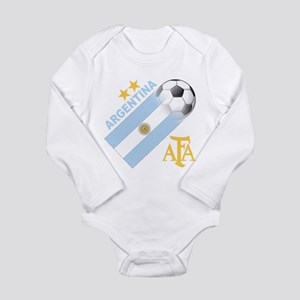 Argentina world cup soccer Long Sleeve Infant Body