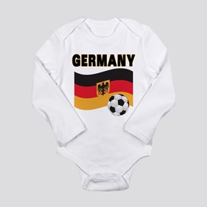 Germany Long Sleeve Infant Bodysuit
