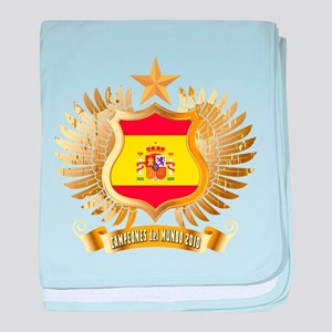Spain world cup champions Infant Blanket