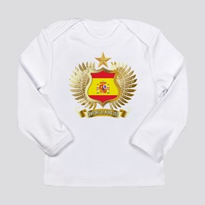 Spain world cup champions Long Sleeve Infant T-Shi