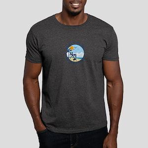 Surf City NC - Beach Design Dark T-Shirt