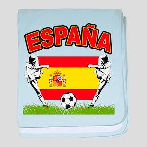 Spainish Soccer Infant Blanket