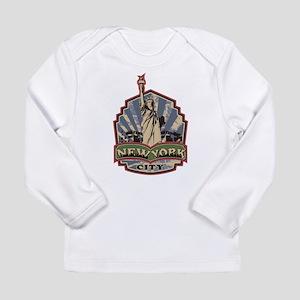 New York City Long Sleeve Infant T-Shirt