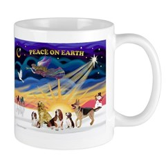 Xmas Sunrise - Five Dogs Mug