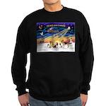 Xmas Sunrise - Five Dogs Sweatshirt (dark)