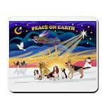 Xmas Sunrise - Five Dogs Mousepad