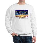 Xmas Sunrise - Five Dogs Sweatshirt