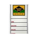 Reading Bee Line Rectangle Magnet (10 pack)
