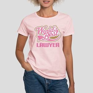 Worlds Best Lawyer Women's Light T-Shirt
