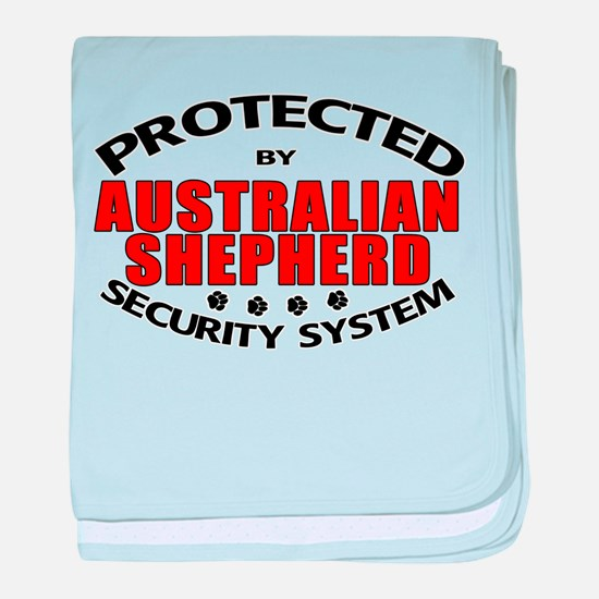 Australian Shepherd Security Infant Blanket