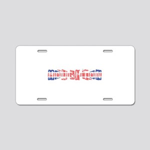 Houghton Aluminum License Plate