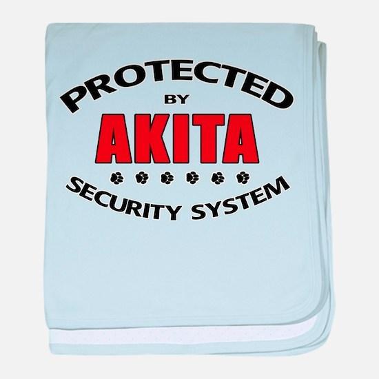 Akita Security Infant Blanket