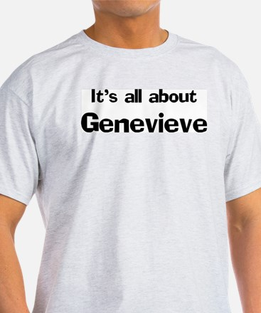 It's all about Genevieve Ash Grey T-Shirt