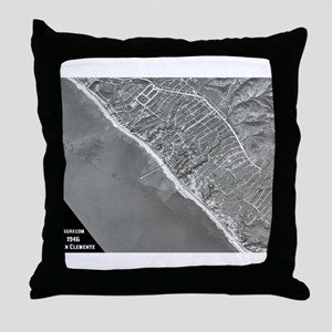 San Clemente - 1946 Throw Pillow