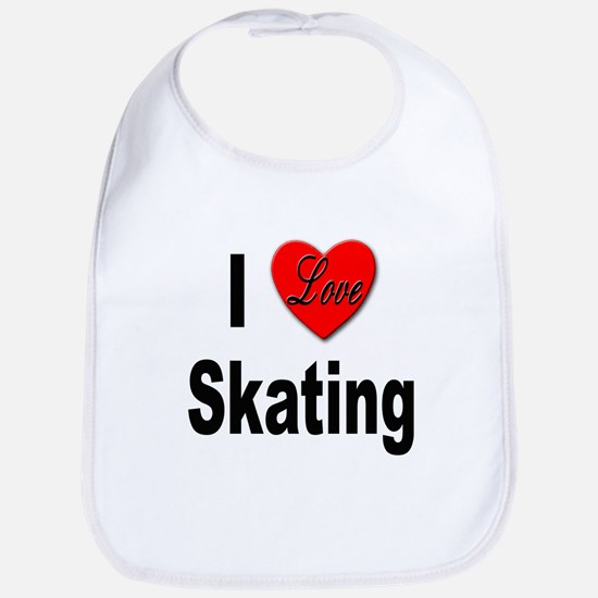 I Love Skating Bib