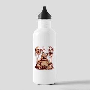 Riyah-Li Designs Happy Buddha Stainless Water Bott