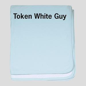 Token White Guy Infant Blanket