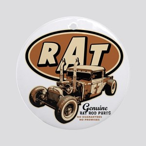 Rat Rod - RAT Ornament (Round)