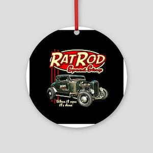 Rat Rod Speed Shop - Nitro Ornament (Round)