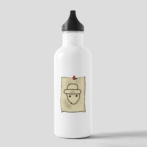 Gold Leprechaun Stainless Water Bottle 1.0L