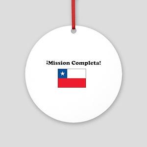 Mission Completa Ornament (Round)