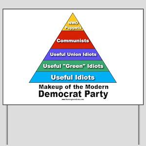 Democrat Party Yard Sign
