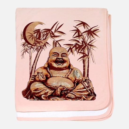 Riyah-Li Designs Happy Buddha Infant Blanket