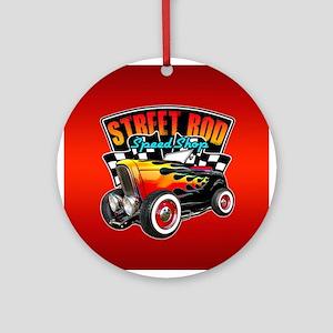 Street Rod Speed Shop Ornament (Round)