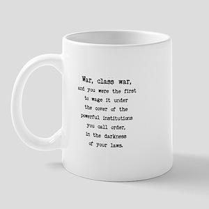Class War / Plain Words Mug