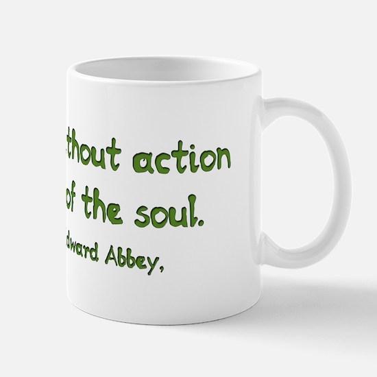Sentiment Without Action Mug