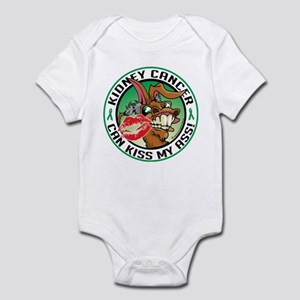 Kidney Cancer Can Kiss My Ass Infant Bodysuit