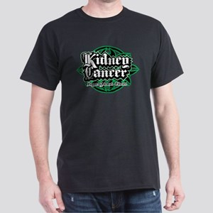 Kidney Cancer Tribal Dark T-Shirt