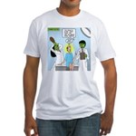Zombie Doctor Fitted T-Shirt