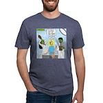 Zombie Doctor Mens Tri-blend T-Shirt