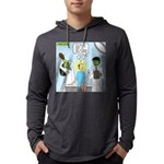 Zombie Doctor Mens Hooded Shirt